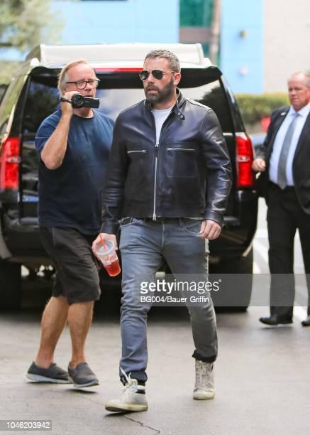 Ben Affleck is seen on October 05 2018 in Los Angeles California