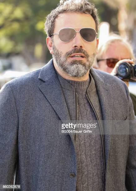 Ben Affleck is seen on October 11 2017 in Los Angeles California