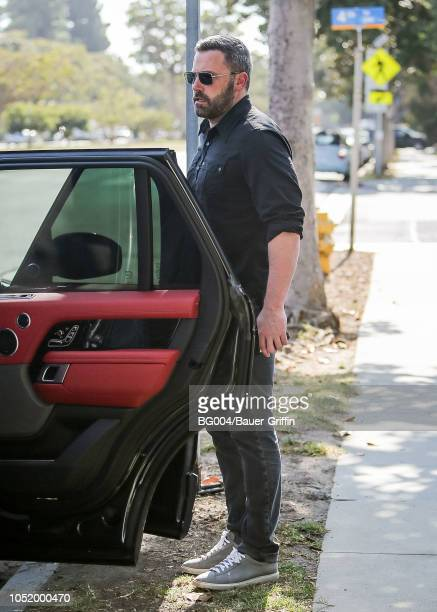 Ben Affleck is seen on October 12 2018 in Los Angeles California