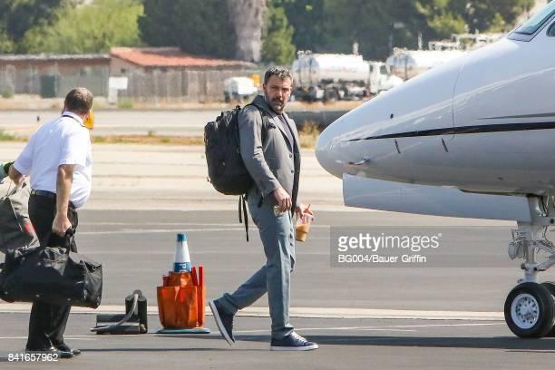 Ben Affleck is seen on September 01, 2017 in Los Angeles, California.