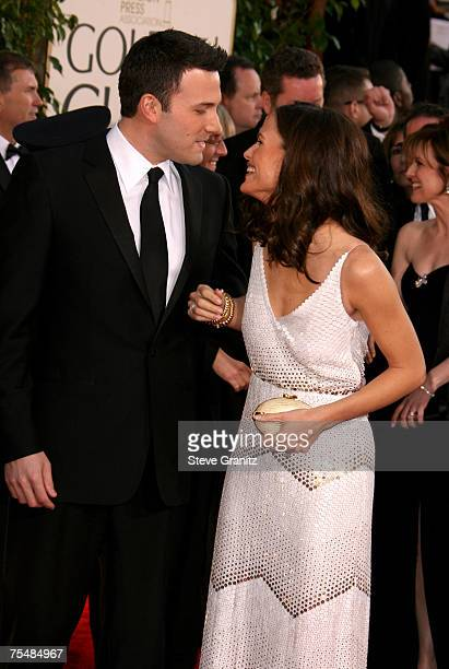 Ben Affleck nominee Best Performance by an Actor in a Supporting Role in a Motion Picture for 'Hollywoodland' and Jennifer Garner during the 64th...