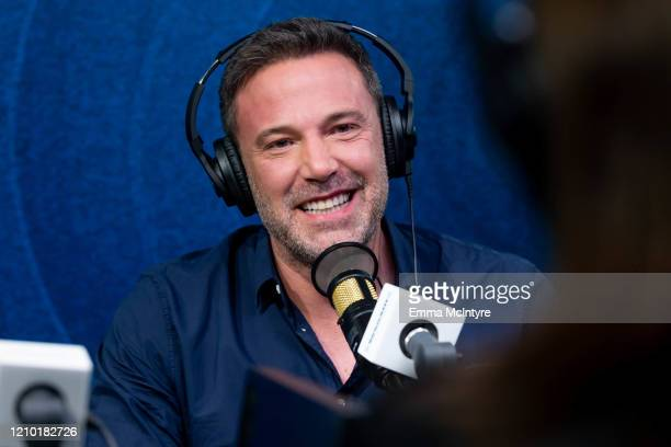 Ben Affleck visits the Jess Cagle Show at the SiriusXM Hollywood Studios on March 03, 2020 in Los Angeles, California.