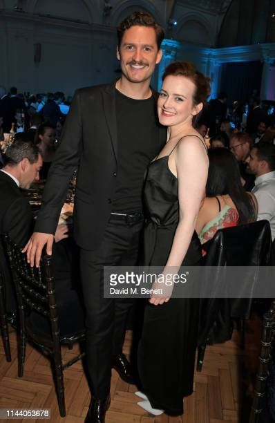 Ben Aldridge and Sophie McShera attend the SMS Battles Quiz for The MS Society raising vital funds for Multiple Sclerosis research at the Royal...