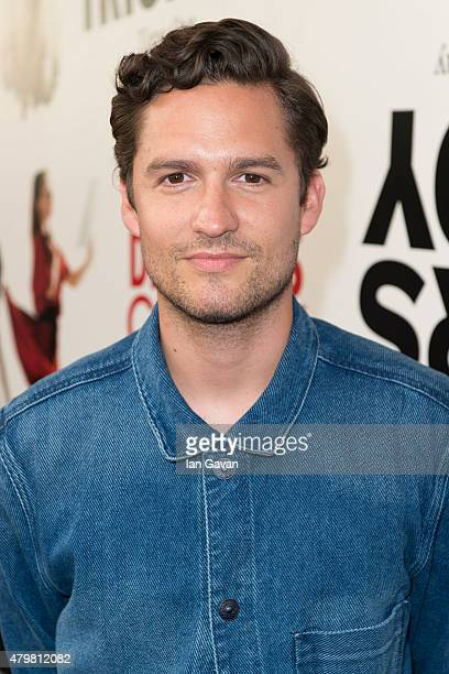 Ben Aldridge attends a press night for LAMDA's The Play That Goes Wrong at the Duchess Theatre on July 7 2015 in London England