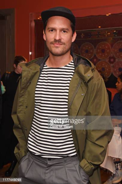 Ben Aldridge attends a private screening of Actress written and directed by Daisy Lewis in aid of Action On Addiction at The Soho Hotel on October 21...