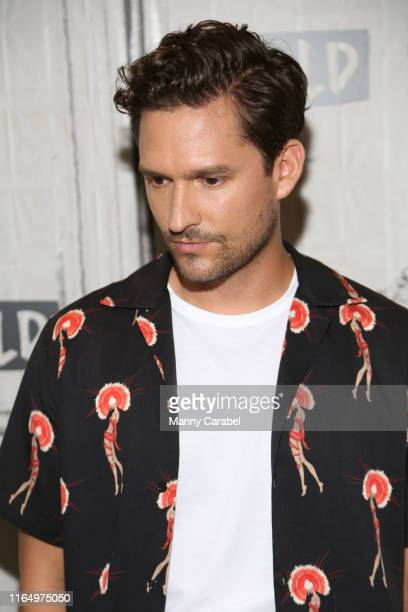 Ben Aldridge attends Build Series to discuss his role in the series Pennyworth at Build Studio on July 29 2019 in New York City