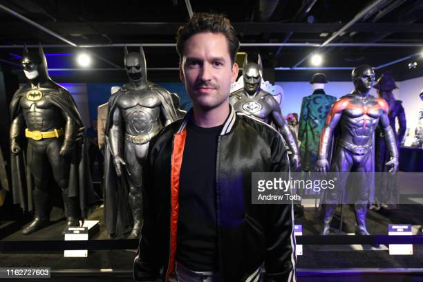 Ben Aldridge attends The Batman Experience powered by ATT and ComicCon Museum character Hall Of Fame induction at Comic Con Museum on July 17 2019 in...