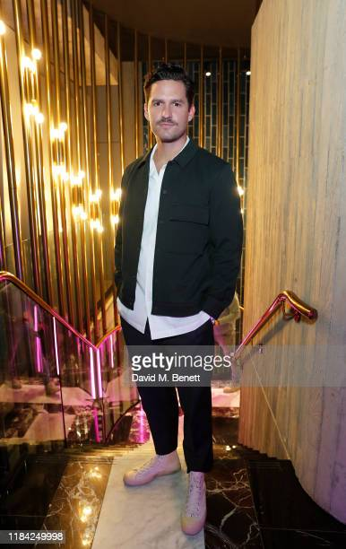 Ben Aldridge attends the Flannels AW19 campaign launch event with a special performance by Raye on October 29 2019 in London England