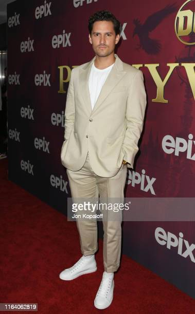 Ben Aldridge attends the LA Premiere Of Epix's Pennyworth at Harmony Gold on July 24 2019 in Los Angeles California