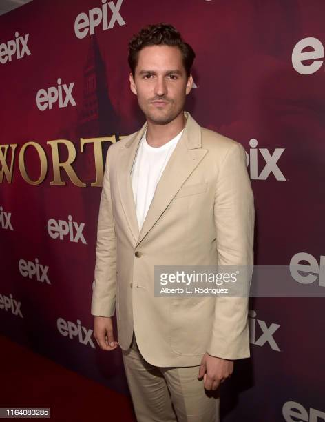 Ben Aldridge attends the premiere of Epix's Pennyworth at Harmony Gold on July 24 2019 in Los Angeles California