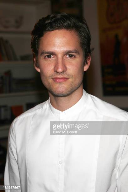 Ben Aldridge attends the press night after party following the performance of The Lyons at the Menier Chocolate Factory on September 26 2013 in...