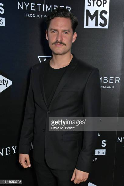 Ben Aldridge attends the SMS Battles Quiz for The MS Society raising vital funds for Multiple Sclerosis research at the Royal Horticultural Halls on...