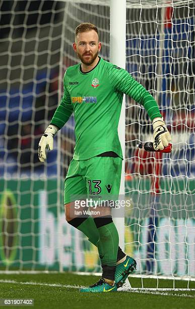 Ben Alnwick of Bolton in action during the Emirates FA Cup third round replay between Crystal Palace and Bolton Wanderers at Selhurst Park on January...