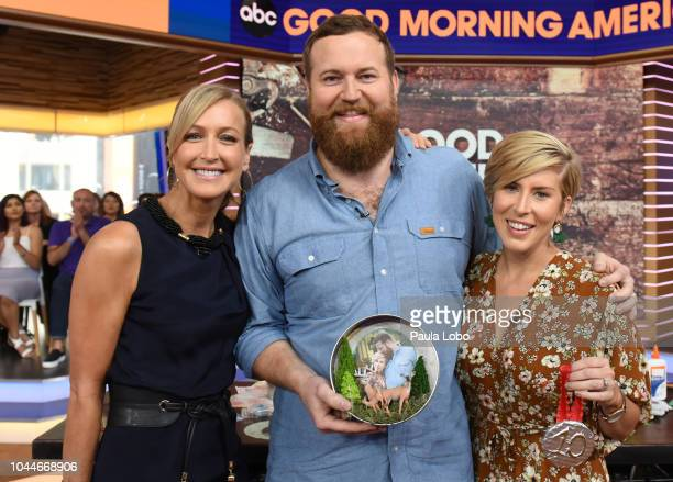 AMERICA Ben and Erin Napier are guests on Good Morning America on Tuesday October 2 2018 airing on the Walt Disney Television via Getty Images...