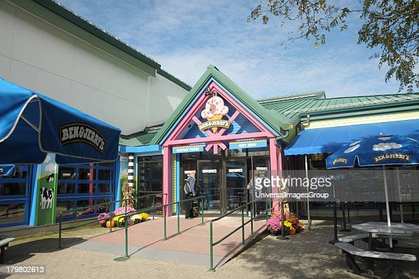 Ben and Jerrys Ice Cream Store Waterbury Vermont