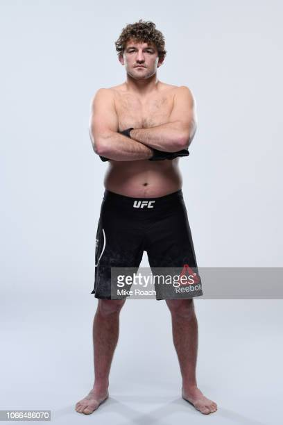 Ben Askren poses for a portrait during a UFC photo session on November 20 2018 in Las Vegas Nevada