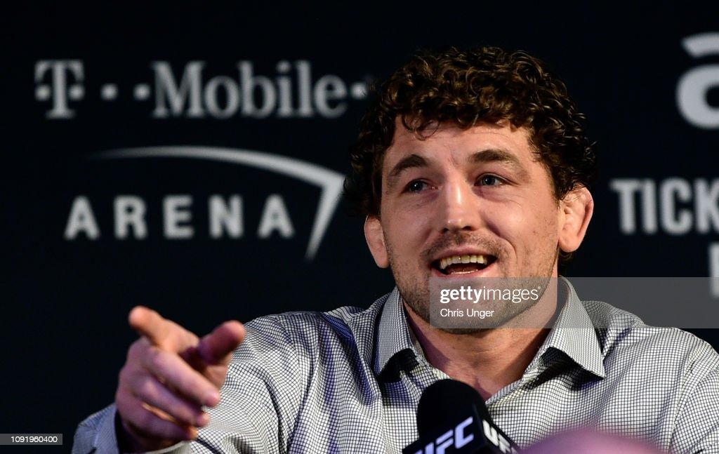 UFC 235: Press Conference : News Photo
