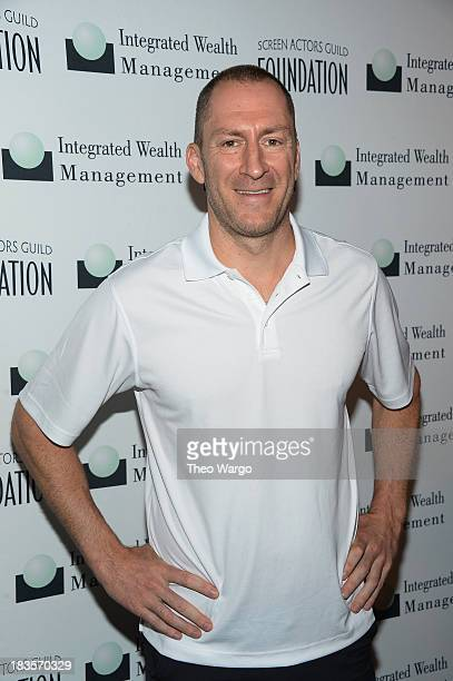 Ben Bailey attends the Screen Actors Guild Foundation Inaugural New York Golf Classic at Trump National Golf Club Westchester on October 7 2013 in...