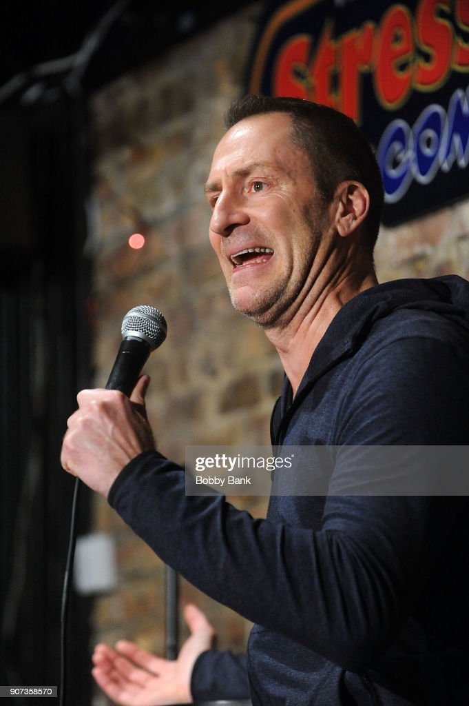 Ben Bailey Performs At The Stress Factory Comedy Club