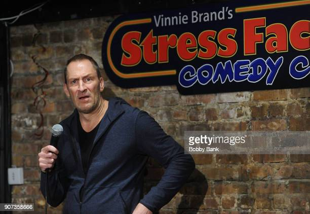 Ben Bailey performs at The Stress Factory Comedy Club on January 19 2018 in New Brunswick New Jersey