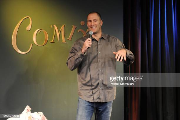 Ben Bailey performs onstage at the SIT STAY AND STANDUP Comedy Show to Benefit The ASPCA at Comix on September 29 2009 in New York City