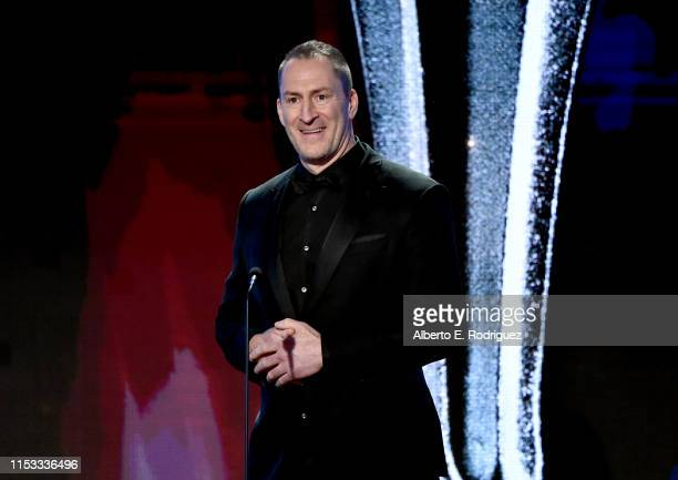 Ben Bailey speaks onstage during the Critics' Choice Real TV Awards at The Beverly Hilton Hotel on June 02 2019 in Beverly Hills California