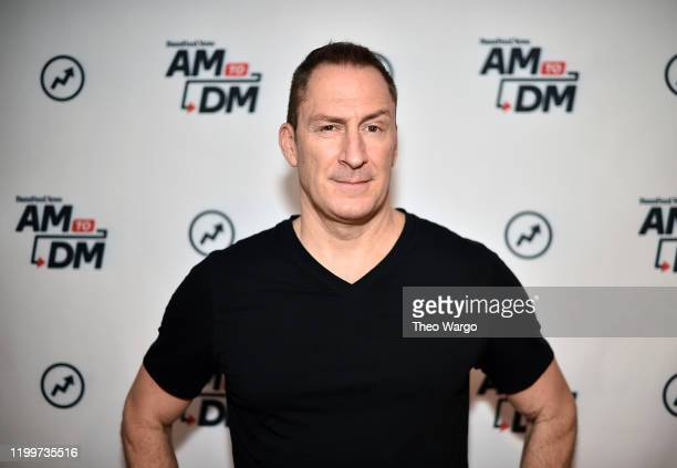 Ben Bailey visits BuzzFeed's AM To DM on January 15 2020 in New York City