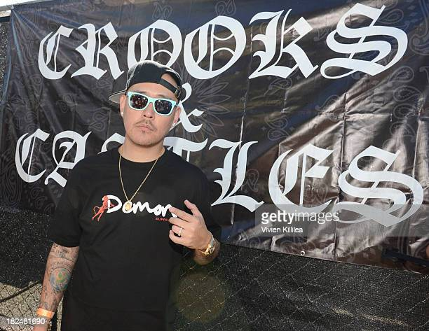 Ben Baller attends Welcome To The Block presented by Crooks Castles and Diamond Supply Co on September 29 2013 in Los Angeles California