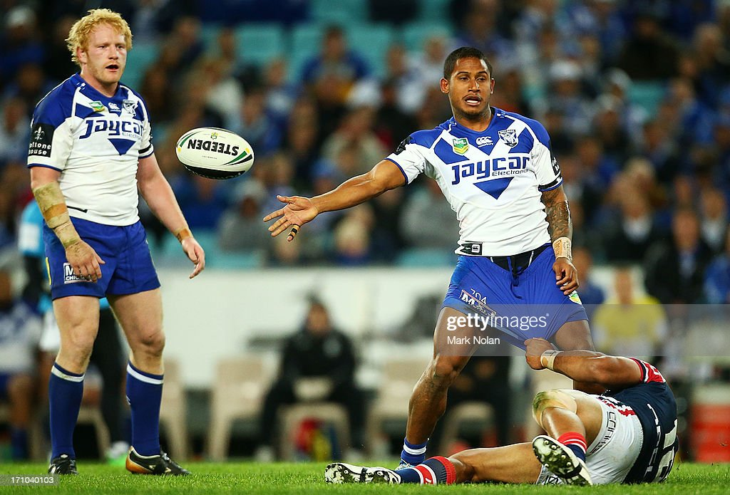 NRL Rd 15 - Bulldogs v Roosters