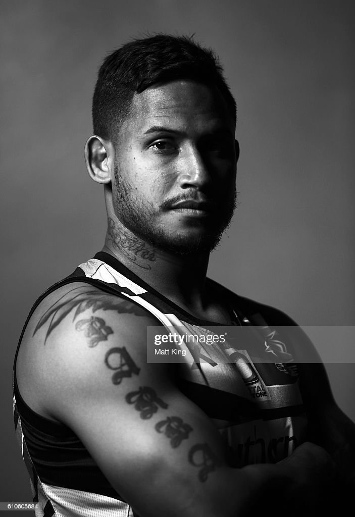 Ben Barba of the Sharks poses during a Cronulla Sharks NRL media session at Southern Cross Group Stadium on September 27, 2016 in Sydney, Australia.