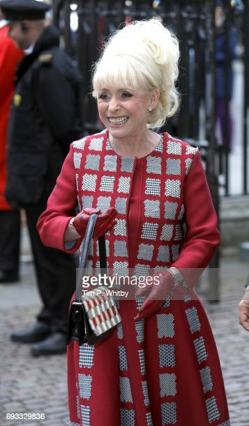 Ben Barbara Windsor attends a memorial service for comedian Ronnie Corbett at Westminster Abbey on June 7 2017 in London England Corbett died in...