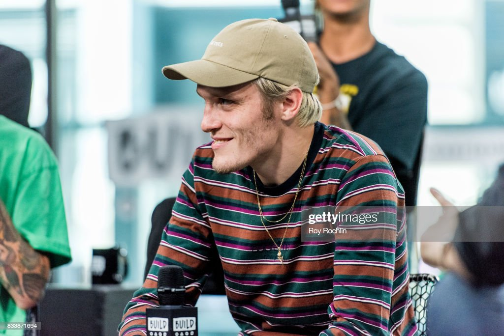 Ben Barlow of Neck Deep discusses 'The Peace and The Panic' with the Build Series at Build Studio on August 17, 2017 in New York City.