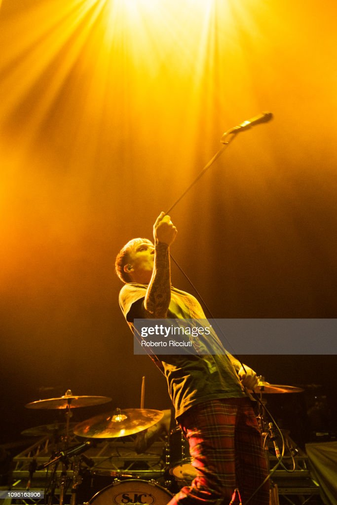 GBR: Don Broco Performs At Usher Hall Edinburgh