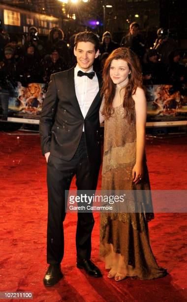 Ben Barnes and Georgie Henley attend the Royal Film Performance and World Premiere of 'The Chronicles Of Narnia The Voyage Of The Dawn Treader' at...
