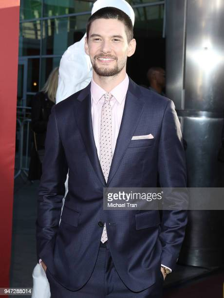 Ben Barnes arrives at the Los Angeles premiere of HBO's Westworld season 2 held at The Cinerama Dome on April 16 2018 in Los Angeles California