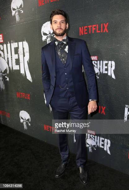 Ben Barnes attends 'Marvel's The Punisher' Seasons 2 Premiere at ArcLight Hollywood on January 14 2019 in Hollywood California