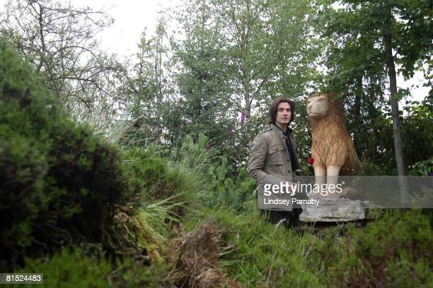 Ben Barnes star of the new film adaptation of the CS Lewis classic The Chronicles of Narnia Prince Caspian poses at a photocall for the opening of a...