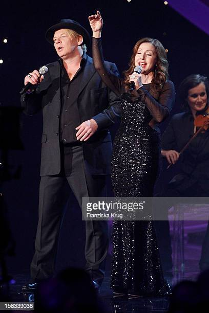 Ben Becker and Vicky Leandros perform during the 18th Annual Jose Carreras  Gala on December 13 30d3cfd451