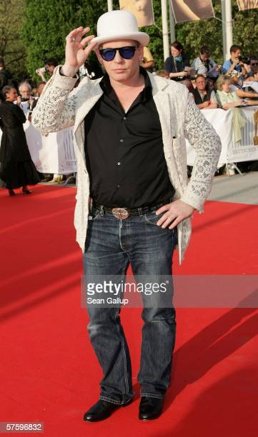 Ben Becker arrives at the German Film Awards at the Palais am Funkturm May 12, 2006 in Berlin, Germany.