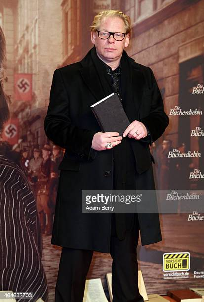 Ben Becker arrives for the German premiere of the film 'The Book Thief' at Zoo Palast on January 23 2014 in Berlin Germany