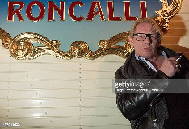 Ben Becker attends the 10th Roncalli Christmas Circus at Tempodrom on December 19 2013 in Berlin Germany