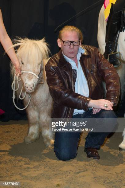 Ben Becker attends the Apassionate VIP Reception at O2 World on January 19 2014 in Berlin Germany