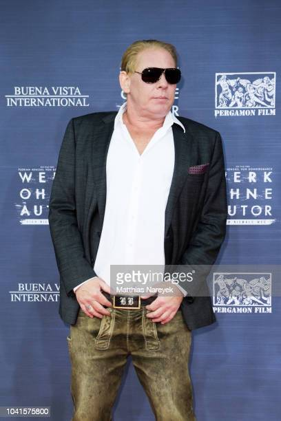 Ben Becker attends the premiere of the film 'Werk ohne Autor' at Zoo Palast on September 26 2018 in Berlin Germany
