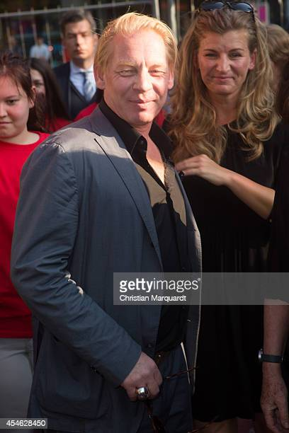 Ben Becker attends the reopening of the Berlin Walk of Fame on September 4 2014 in Berlin Germany