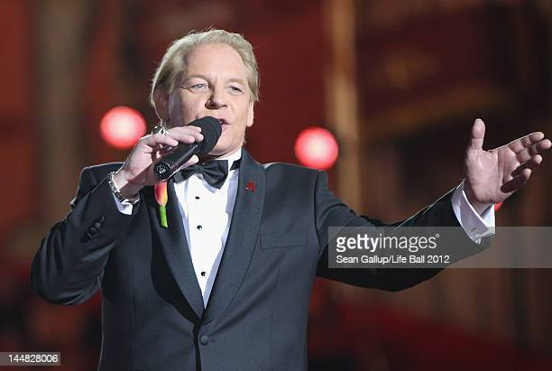 Ben Becker cohosts the show at the Life Ball 2012 AIDS charity fundraiser at City Hall on May 19 2012 in Vienna Austria