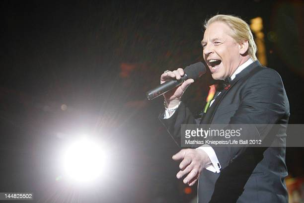Ben Becker holds a speech at the Life Ball 2012 AIDS charity fundraiser at City Hall on May 19 2012 in Vienna Austria