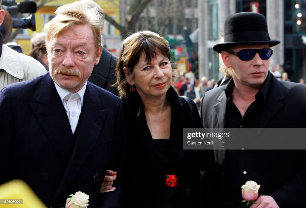 Funeral Of Harald Juhnke : News Photo