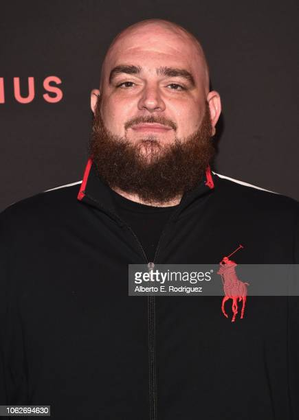 Ben Billions attends Spotify's Secret Genius Awards hosted by NEYO at The Theatre at Ace Hotel on November 16 2018 in Los Angeles California