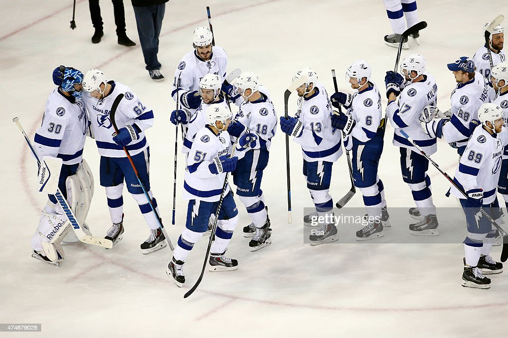 Tampa Bay Lightning v New York Rangers - Game Five : News Photo