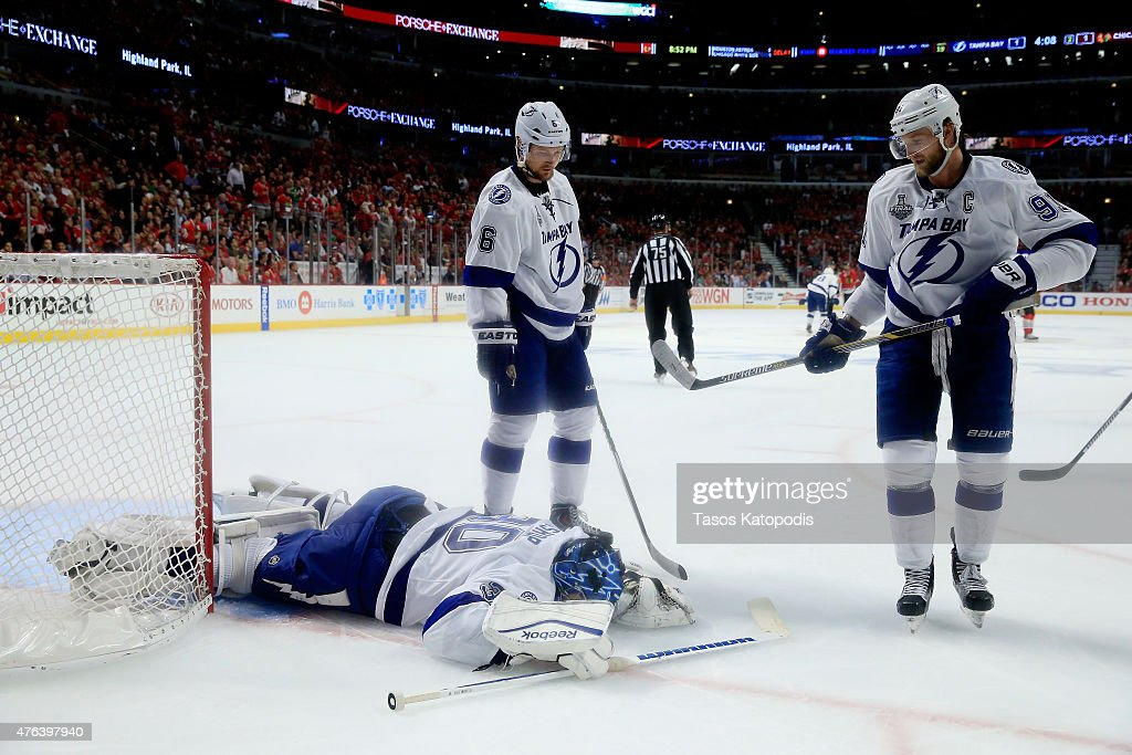 2015 NHL Stanley Cup Final - Game Three : ニュース写真